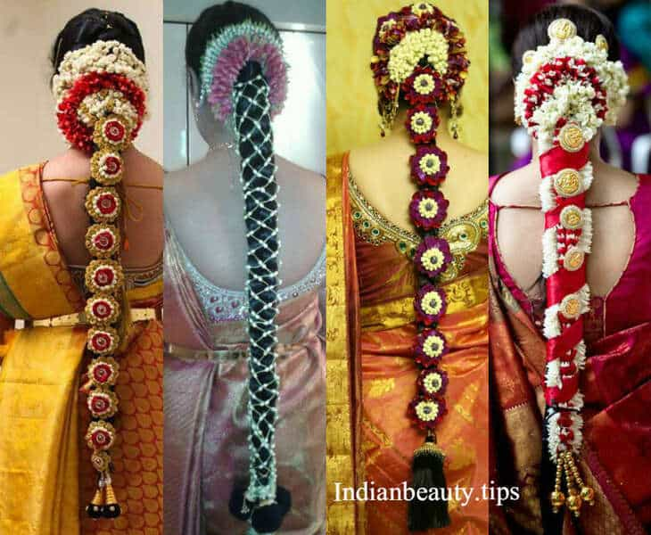 Super 20 Gorgeous South Indian Wedding Hairstyles Indian Beauty Tips Hairstyles For Men Maxibearus